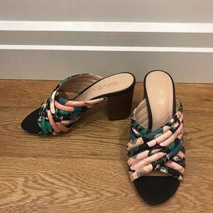 Shoes - Rachel Zoe Floral heel